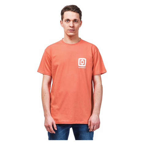 koszulka Horsefeathers Mini Logo - Coral