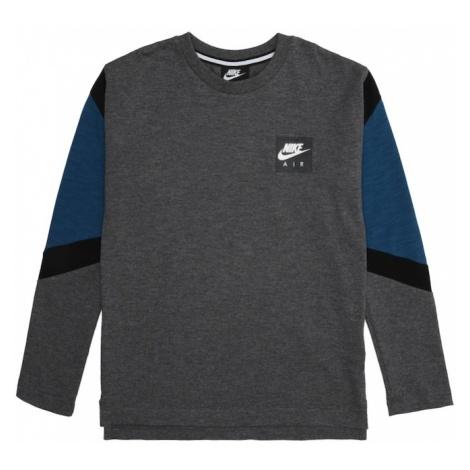 Nike Sportswear Bluza 'AIR' niebieski / czarny