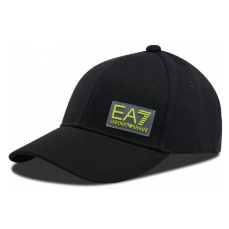EA7 Emporio Armani Czapka z daszkiem 275887 0A108 Czarny