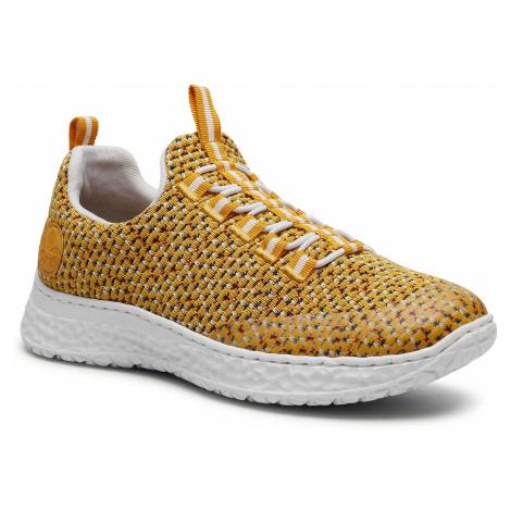 Sneakersy RIEKER - N4174-68 Gelb