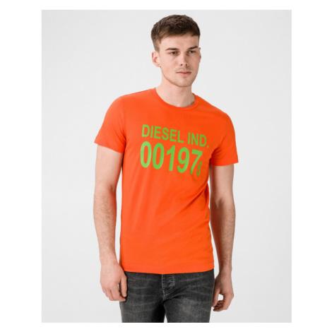 Diesel T-Diego Koszulka Pomarańczowy