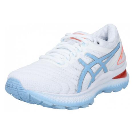 ASICS Buty sportowe 'GEL-NIMBUS 22' jasnoniebieski / biały