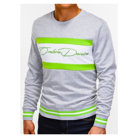 Ombre Clothing Men's printed sweatshirt B933