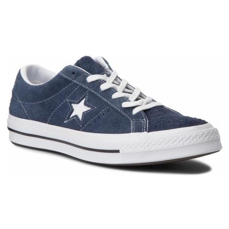 Tenisówki CONVERSE - One Star Ox 158371C Navy/White/White