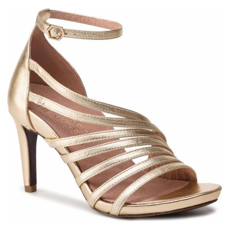 Sandały TAMARIS - 1-28303-22 Gold 940