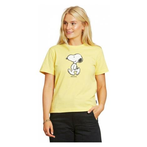 Dedicated, Camiseta Mysen Snoopy Żółty, female, rozmiary:
