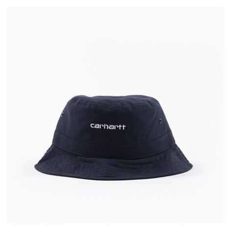 Kapelusz Carhartt WIP Script Bucket Hat I026217 NAVY/WHITE