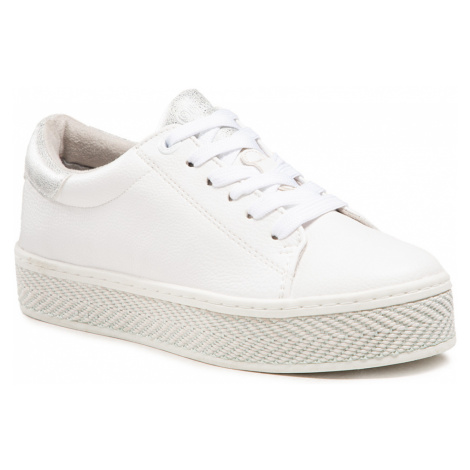 Sneakersy S.OLIVER - 5-23637-26 White/Silver