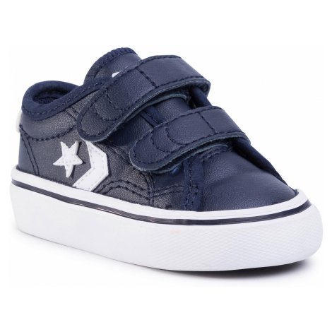 Sneakersy CONVERSE - Star Replay 2V Ox 767220C Obsidian/Obsidian/White