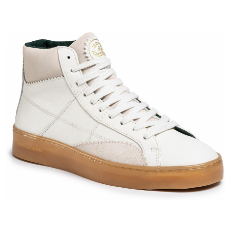 Sneakersy SCOTCH & SODA - Plakka 20841614 Off White S20