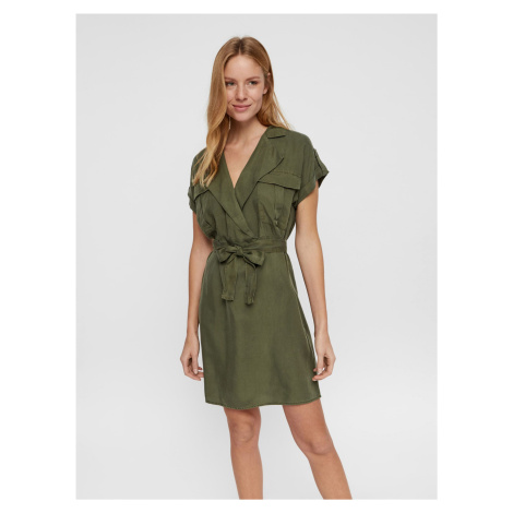 Sukienka w kolorze khaki Noisy May Vera