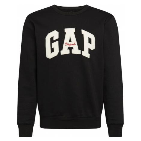 GAP Bluzka sportowa biały / czarny