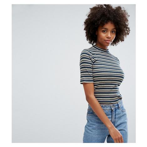 Esprit High Neck Stripe T-Shirt
