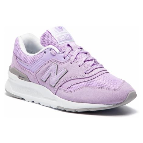Sneakersy NEW BALANCE - CW997HCC Fioletowy