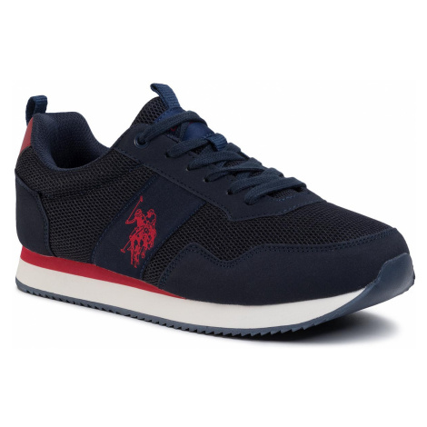 Sneakersy U.S. POLO ASSN. - Exte NOBIL4250S0/MH1 Dkbl/Red