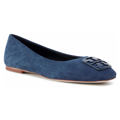 Baleriny TORY BURCH - Georgia Ballet 76545 Perfect Navy