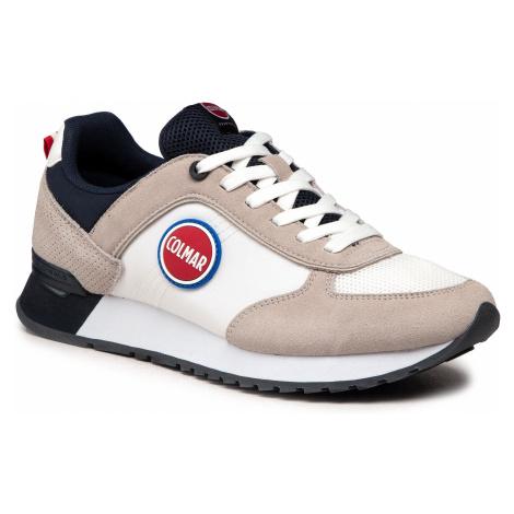Sneakersy COLMAR - Travis Colors 001 White/Navy