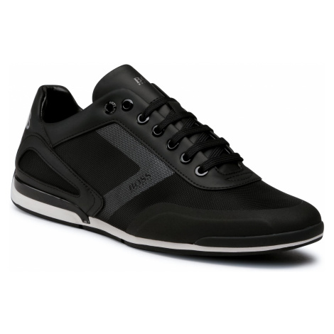 Sneakersy BOSS - Saturn 50439553 10225762 01 Black 002 Hugo Boss