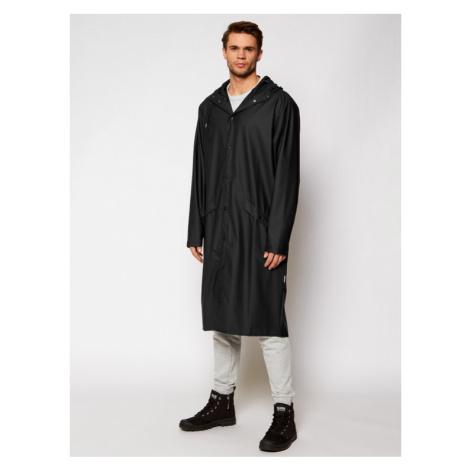 Rains Kurtka przeciwdeszczowa Unisex 1836 Czarny Regular Fit