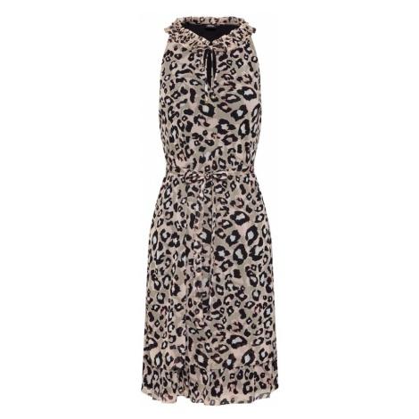S.Oliver BLACK LABEL Letnia sukienka brązowy / mieszane kolory