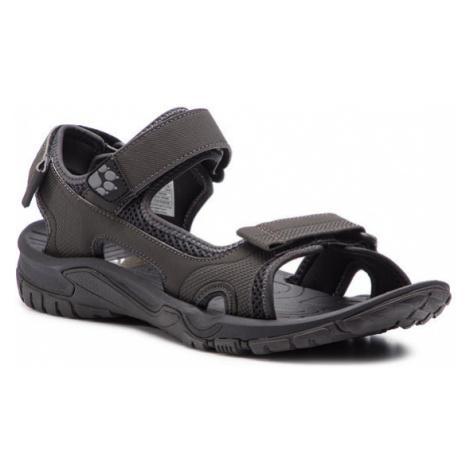 Jack Wolfskin Sandały Lakewood Cruise Sandal M 409011 Szary