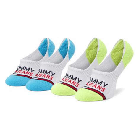 Tommy Jeans Zestaw 2 par stopek unisex 100000403 Biały Tommy Hilfiger