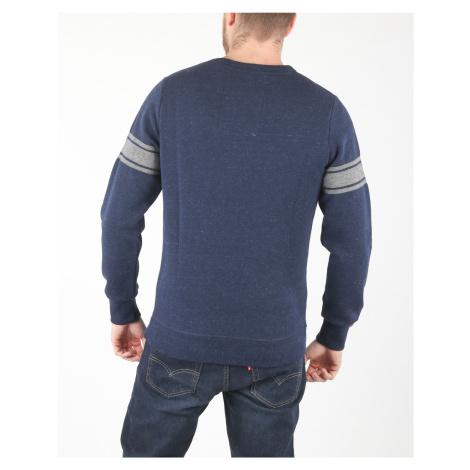 SuperDry Bluza Niebieski