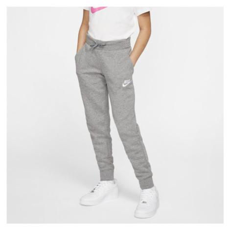 Spodnie dla dużych dzieci (dziewcząt) Nike Sportswear - Szary