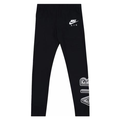 Nike Sportswear Legginsy 'FAVORITES' czarny / biały