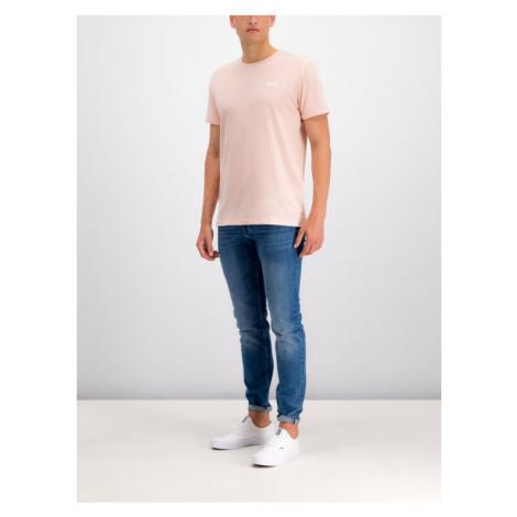 Tommy Jeans T-Shirt Jaspe DM0DM04559 Różowy Regular Fit Tommy Hilfiger