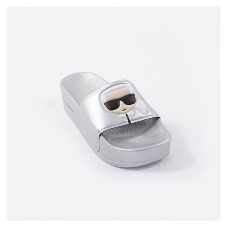 Damskie klapki Karl Lagerfeld