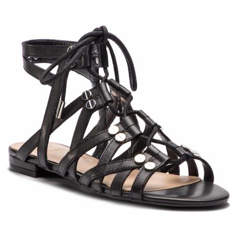 Sandały GUESS - Ramonda FL6RAM LEA03 BLACK