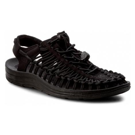 Sandały KEEN - Uneek 1014099 Black/Black