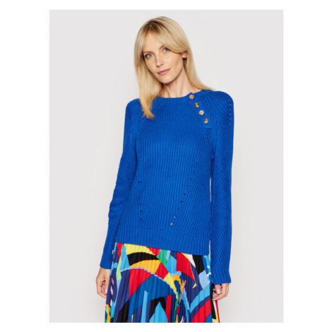 Lauren Ralph Lauren Sweter 200818321003 Niebieski Regular Fit