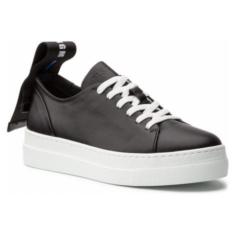 Sneakersy MSGM - Ribbon Cupsole Sneakers 2641MDS615 195 99 Czarny