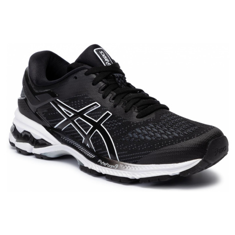 Buty ASICS - Gel-Kayano 26 1012A457 Black/White 001
