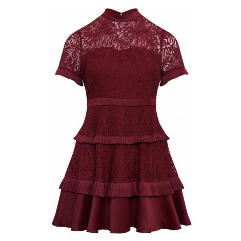 Forever New Sukienka koktajlowa 'Rochelle' czerwone wino
