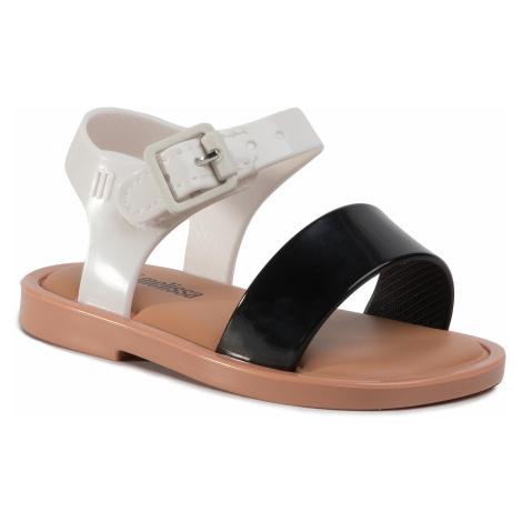 Sandały MELISSA - Mini Melissa Mar Sandal III Bb 32633 Black/White/Brown 52909