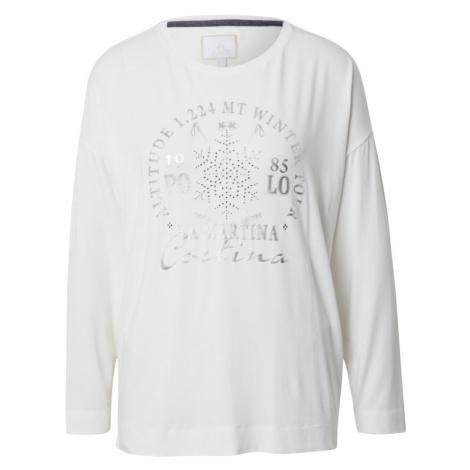 La Martina Koszulka biały / srebrny