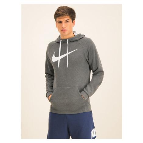 Nike Bluza Swoosh 885818 Szary Regular Fit