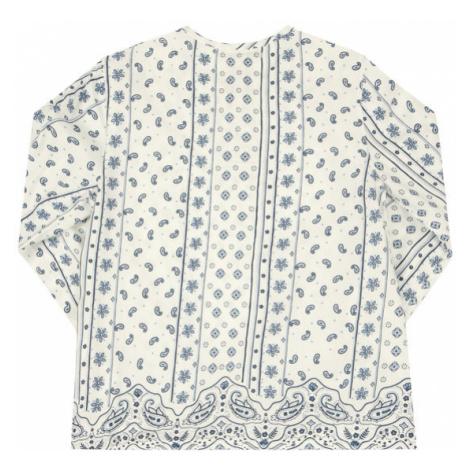 Pepe Jeans Bluzka Cota PG301305 Biały Regular Fit