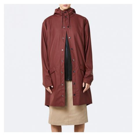 Płaszcz damski Rains Long Jacket 1202 MAROON