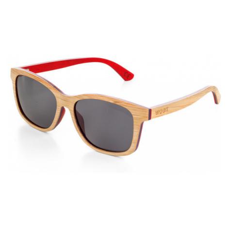 Okulary Przeciwsłoneczne Unisex   Luceo Bambusa Rubra Woox