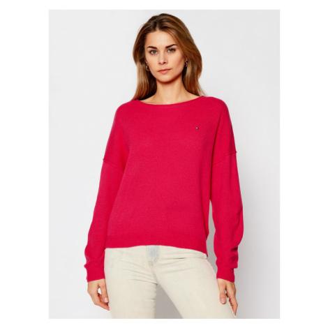 Tommy Hilfiger Sweter Softwool WW0WW28890 Różowy Regular Fit
