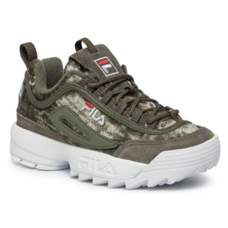 Fila Sneakersy Disruptor V Low Wmn Cr 1010555.50I Zielony