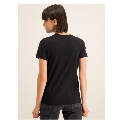 Diesel T-Shirt T-Sily-Copy T 00SBGH 0HERA Czarny Regular Fit