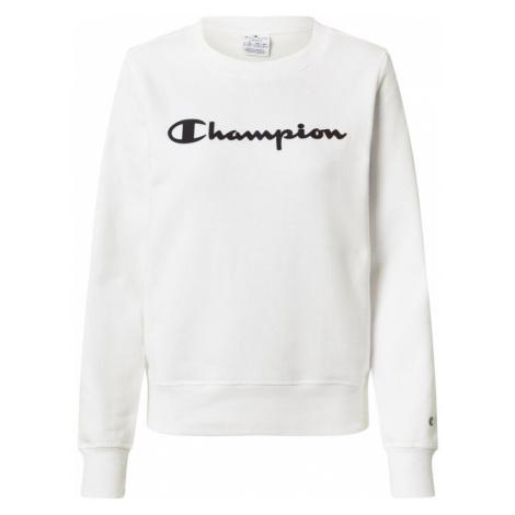 Champion Authentic Athletic Apparel Bluzka sportowa biały / czarny