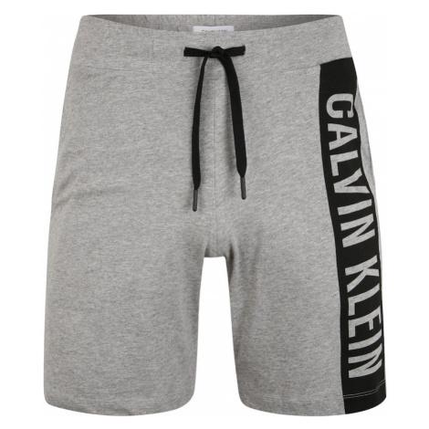 Calvin Klein Underwear Spodnie 'MEDIUM' szary / czarny