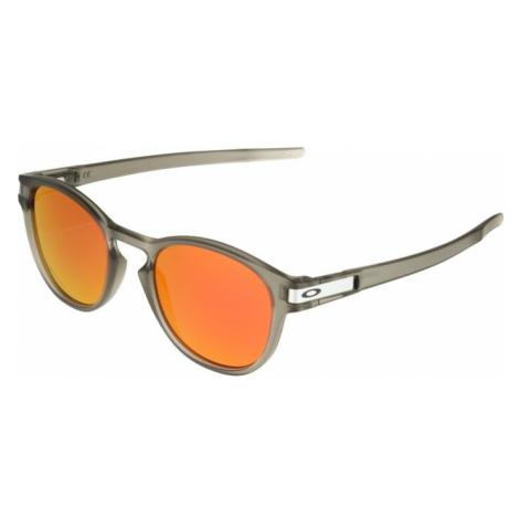 OAKLEY Okulary przeciwsłoneczne 'Latch' szary / pomarańczowo-czerwony