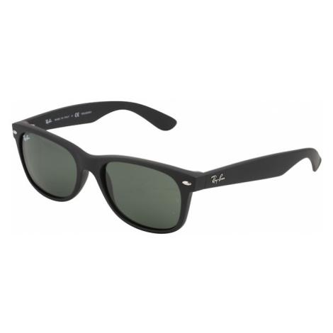 Ray-Ban Okulary przeciwsłoneczne 'NEW WAYFARER' zielony / czarny
